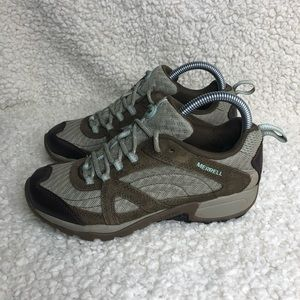 Merrell Hiking Shoe Chocolate Chip/Eggshell Sz 7